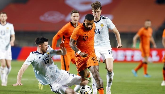 Нідерланди зіграли внічию з Шотландією в товариському матчі