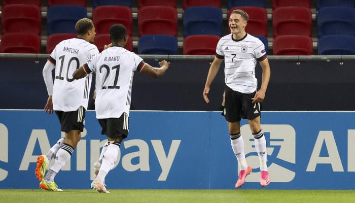 Німеччина стала другим фіналістом молодіжного чемпіонату Європи