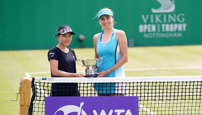 Людмила Кіченок виграла парний турнір у Ноттінгемі