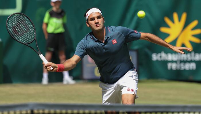 Федерер програв Оже Альяссіму в 1/8 фіналу турніру в Галле