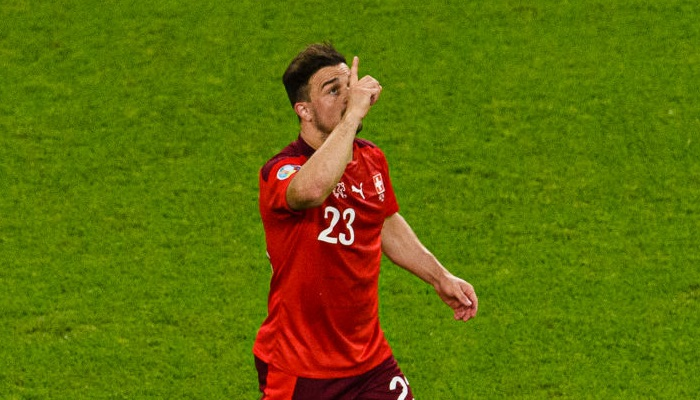 Шачири стал лучшим бомбардиром Швейцарии на крупных международных турнирах
