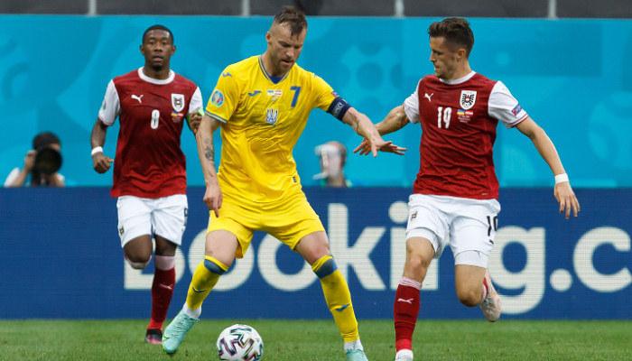 Украина — Австрия. Видео голов и обзор матча