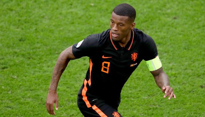 Вейналдум признан лучшим игроком матча Северная Македония — Нидерланды