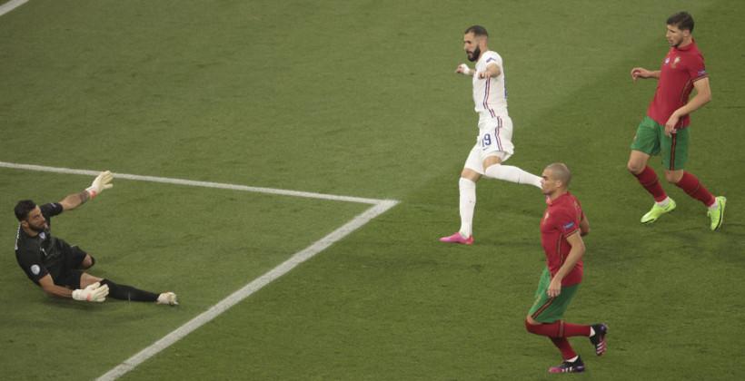 Португалия — Франция. Видео голов и обзор матча