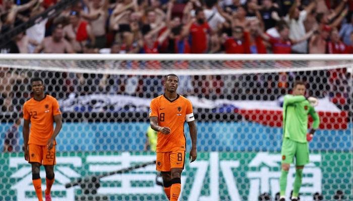 Нидерланды впервые не сделали ни одного удара в створ ворот в матче ЧМ/ЧЕ
