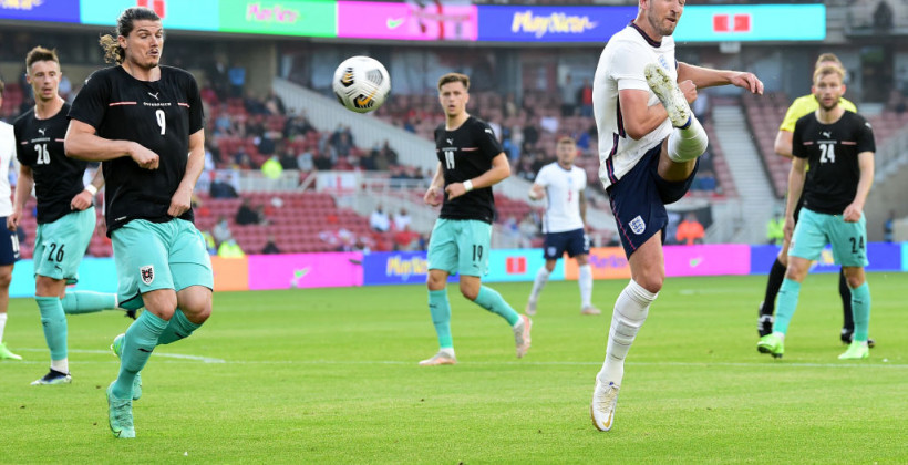 Англія мінімально перемогла Австрію в товариському матчі