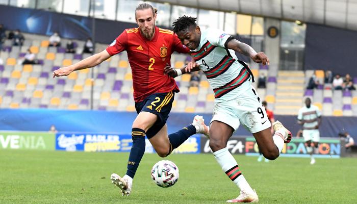Португалия обыграла Испанию и вышла в финал молодежного Евро