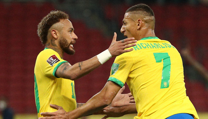 Бразилія перемогла Еквадор у відборі на чемпіонат світу-2022