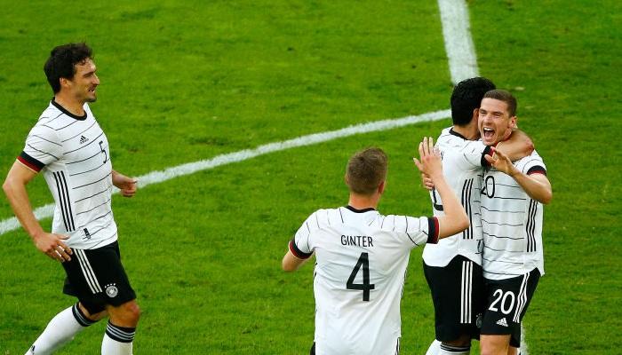 Германия уничтожила Латвию в товарищеском матче