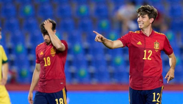 Знекровлена Іспанія розгромила Литву в товариському матчі