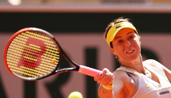 Павлюченкова впервые вышла в финал Ролан Гаррос