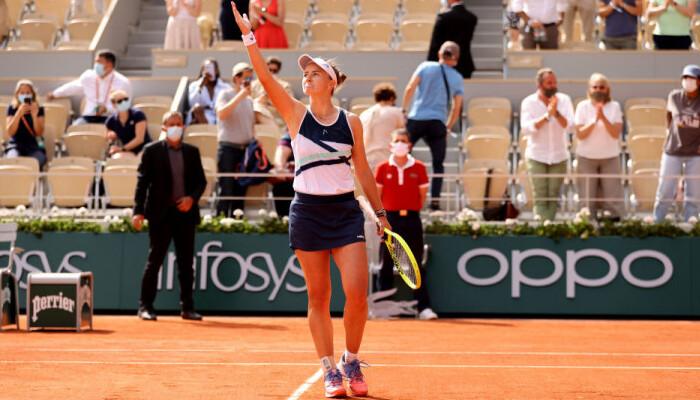 Крейчикова поднимется на 15-е место в рейтинге WTA