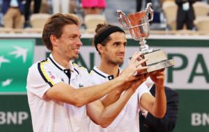 Французи Ербер і Маю вдруге стали чемпіонами парного турніру Ролан Гаррос
