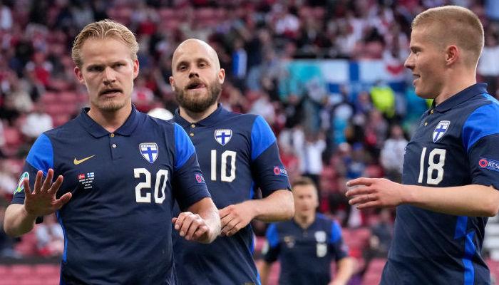 Телеканал Футбол 1 смотреть видеотрансляцию матча Евро-2020 Финляндия - Россия