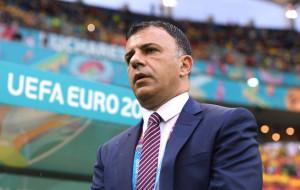 Тренер сборной Северной Македонии Ангеловски: «Показали, зачем приехали на Евро»