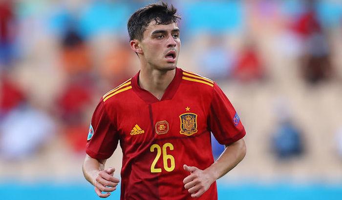 Педри стал самым молодым игроком сборной Испании, сыгравшим на Евро