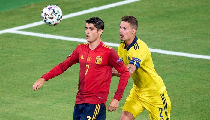 Испания неожиданно сыграла вничью со Швецией