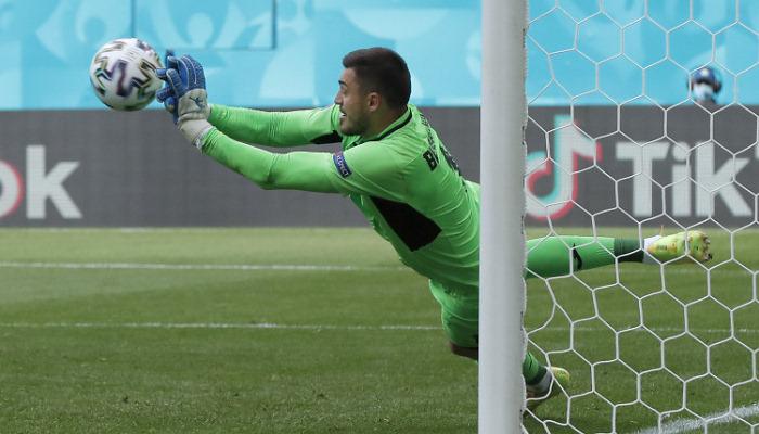 Бущан признан «Львом матча» против Австрии