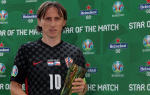 Модрича визнали гравцем матчу Хорватія — Чехія