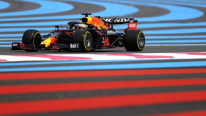 Ферстаппен выиграл квалификацию Гран-при Франции, Хэмилтон — второй