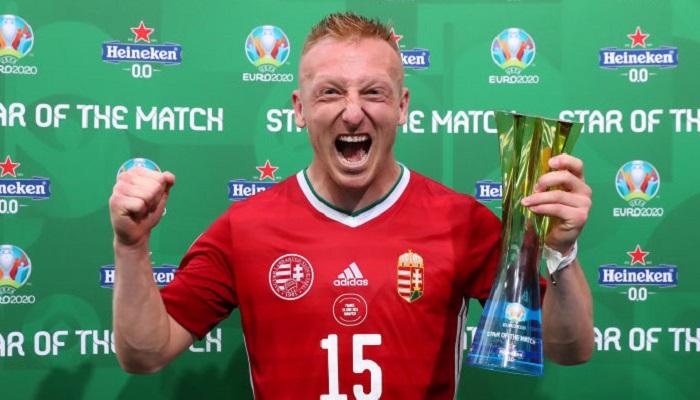 Кляйнхайслер – найкращий гравець матчу Угорщина – Франція