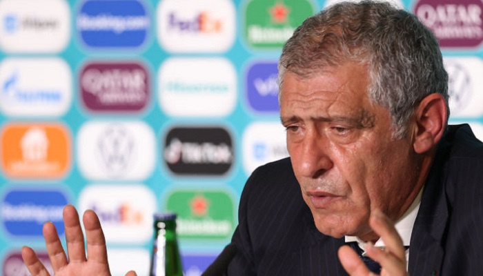 Сантуш: «Бельгия нанесла шесть ударов и забила. У нас было 29 ударов, мы дважды попали в штангу»