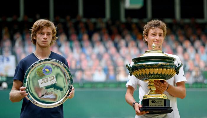 Умбер обіграв Рубльова і виграв турнір ATP в Галле