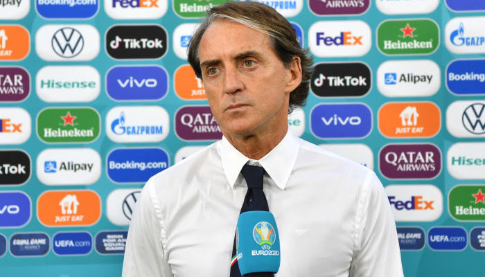 """Манчіні: """"Вигравати було необов'язково, але Італія все одно прагнула до перемоги"""""""