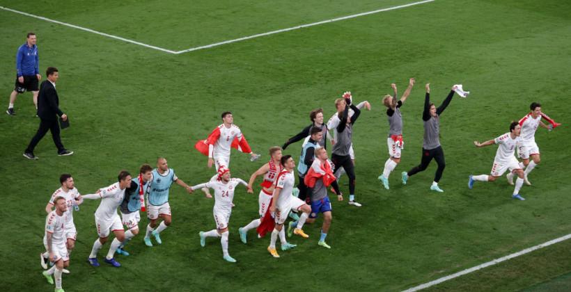 Данія стала першою командою в історії Євро, яка вийшла в плей-офф після двох поспіль поразок на старті