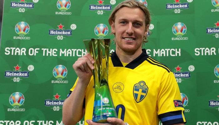 Форсберг признан лучшим игроком матча Швеция — Польша