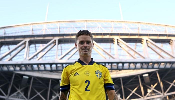 """Захисник Швеції Лустіг: """"Рядовий шведський вболівальник думає, що ми легко обіграємо Україну"""""""