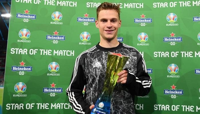 Киммих — лучший игрок матча Германия — Венгрия