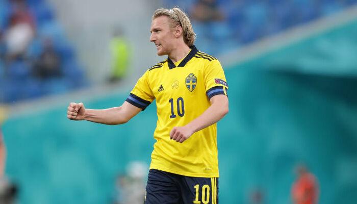 Лидер сборной Швеции Форсберг вернулся в общую группу команды перед матчем с Украиной