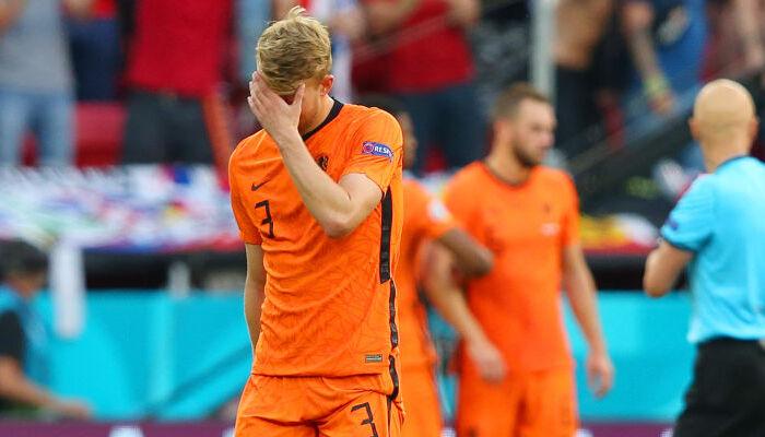 """Де Лігт: """"Відчуття жахливі. Нідерланди програли матч через моє видалення"""""""