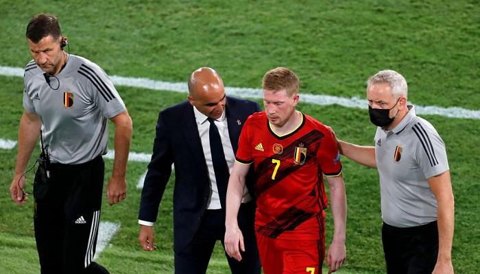 Де Брейне отримав травму в матчі з Португалією