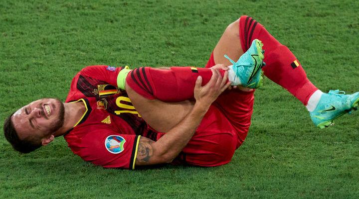 Еден Азар отримав травму в поєдинку проти Португалії