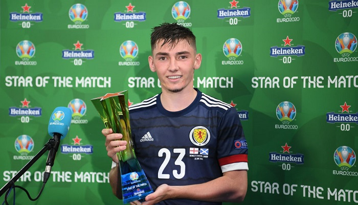 Гілмора визнали гравцем матчу Англія – Шотландія