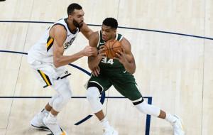 Янніса та Гобера включили в першу символічну збірну захисників сезону в НБА