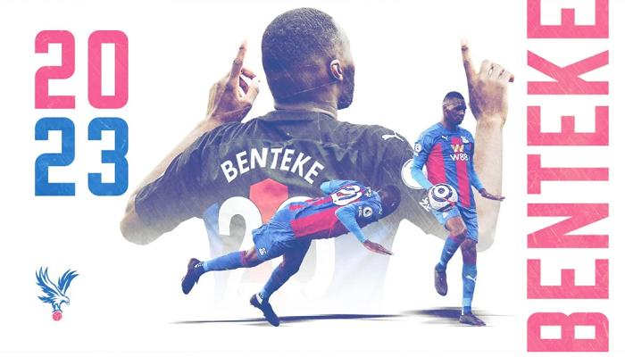 Бентеке продовжив контракт з Крістал Пелас до 2023 року