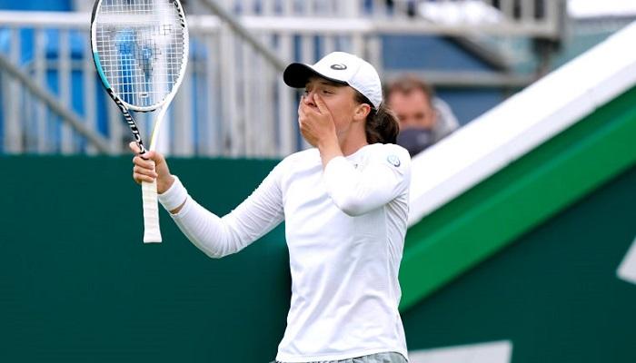 WTA назвала удар Швентек найкращим у червні (відео)