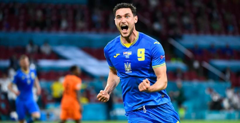 Украина – Англия. Гол Довбика, проход Украины и другие ставки на четвертьфинал Евро-2020