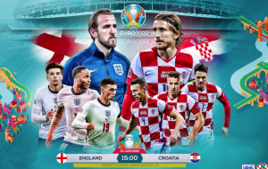 Англия — Хорватия 1:0 онлайн трансляция матча