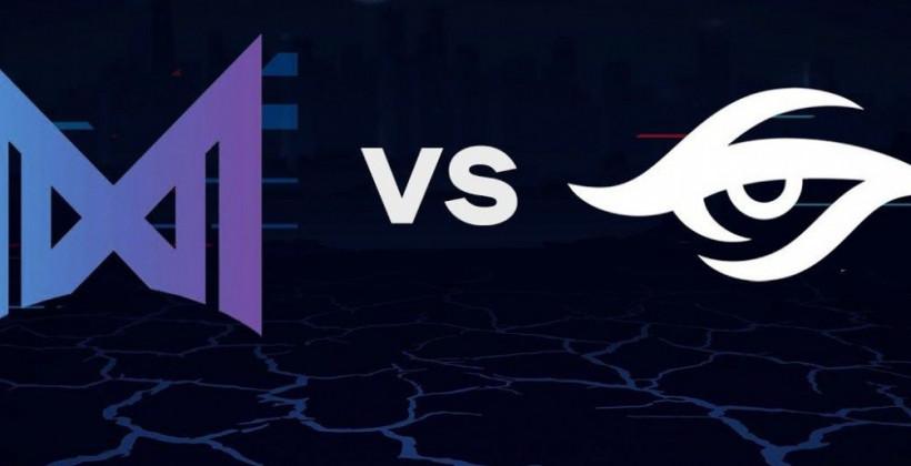 Nigma — Team Secret ставки на киберспорт по Dota 2