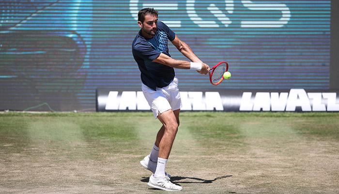 Чилич выиграл травяной турнир в Штутгарте