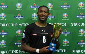 Алаба визнаний кращим гравцем матчу Австрії і Північної Македонії