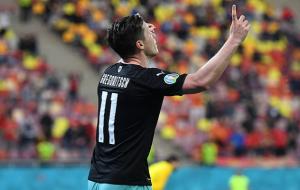 Австрієць Грегоріч забив 700-й гол в історії чемпіонатів Європи