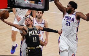 Плей-офф НБА: Атланта и Клипперс сравняли счет в сериях с Филадельфией и Ютой соответственно