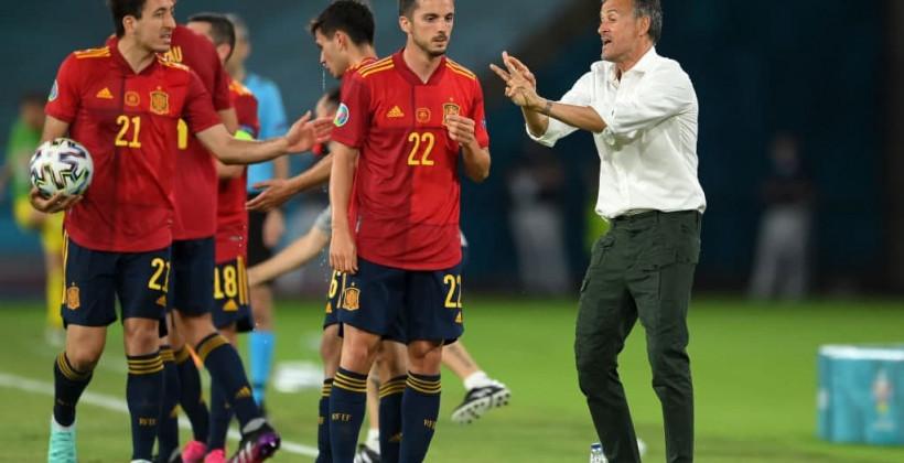 Испания — Польша 1:1 онлайн трансляция матча
