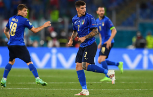 Италия — Уэльс 1:0 онлайн трансляция матча