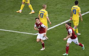 Украина пропускала во всех девяти матчах на чемпионатах Европы